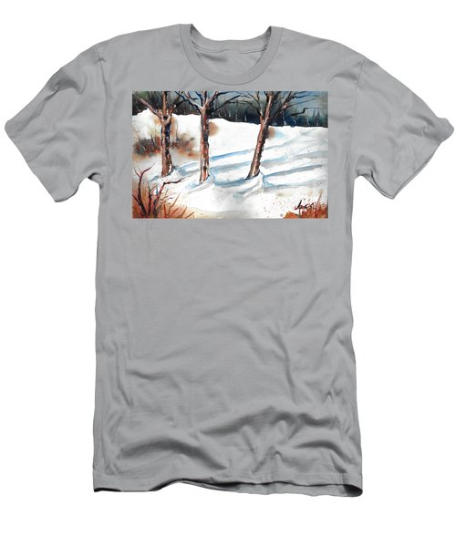 Snow Orchard Men's T-Shirt (Athletic Fit)