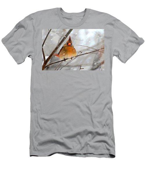 Snow Surprise Men's T-Shirt (Athletic Fit)