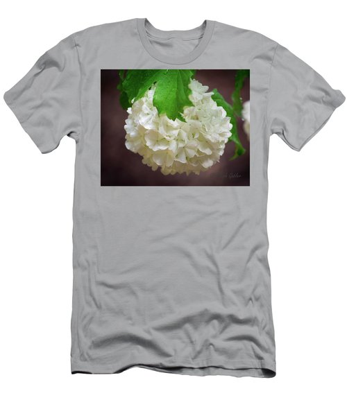 Snowball Bloom Men's T-Shirt (Athletic Fit)