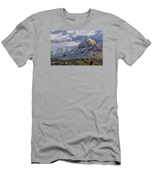 Men's T-Shirt (Slim Fit) featuring the photograph Snowbreak by Tom Kelly