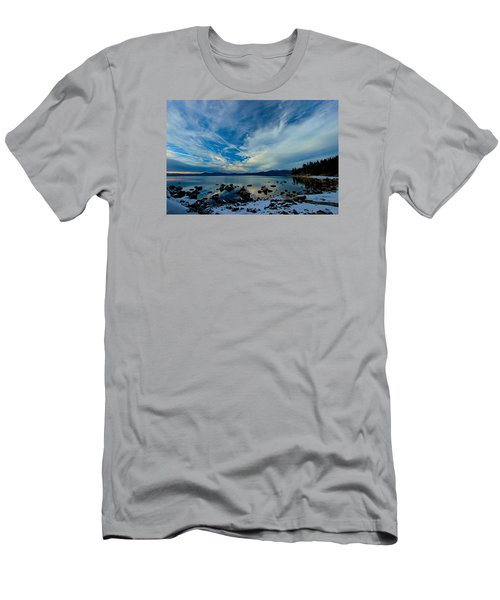 Snowgasm Men's T-Shirt (Slim Fit) by Sean Sarsfield