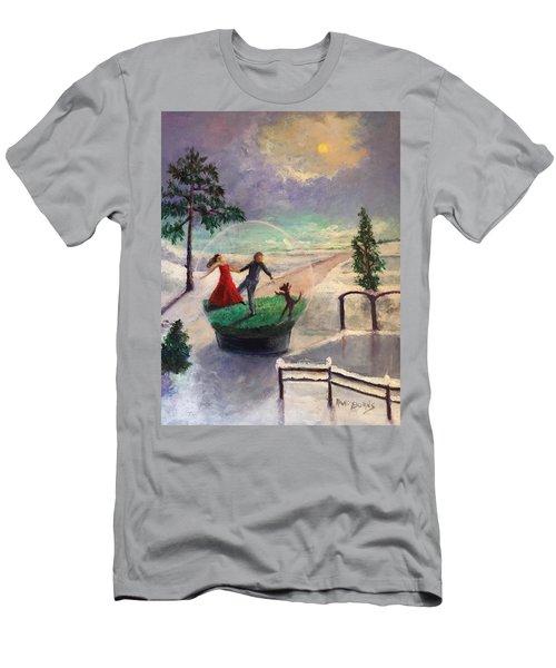 Snowglobe Men's T-Shirt (Athletic Fit)
