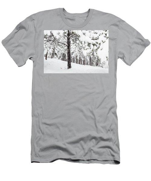 Snowy-4 Men's T-Shirt (Athletic Fit)