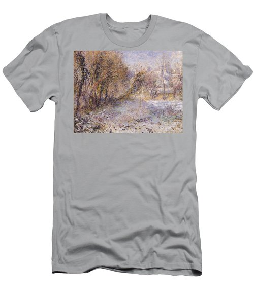 Snowy Landscape Men's T-Shirt (Athletic Fit)