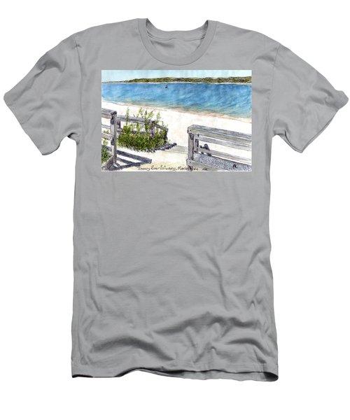 Snowy River Estuary Men's T-Shirt (Athletic Fit)