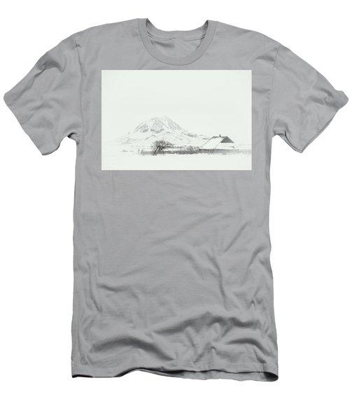 Snowy Sunrise Men's T-Shirt (Athletic Fit)