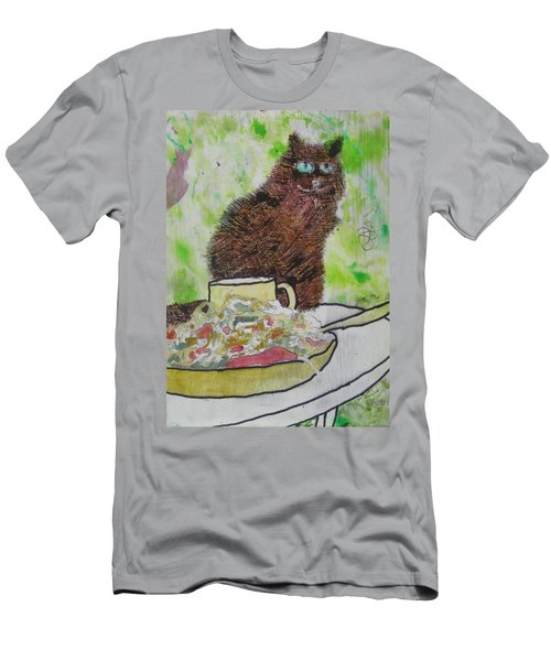 Men's T-Shirt (Slim Fit) featuring the painting So by AJ Brown