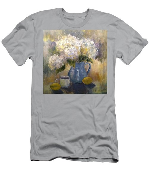 So Happy And Excited To Say That This Men's T-Shirt (Slim Fit) by Jennifer Beaudet