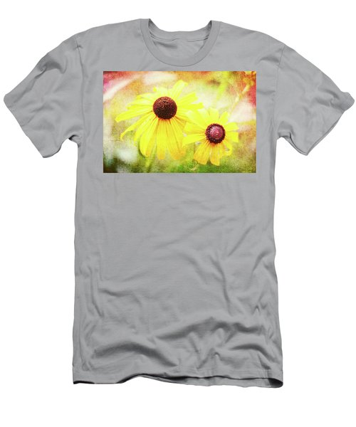 Men's T-Shirt (Athletic Fit) featuring the digital art So Happy Together by Trina Ansel