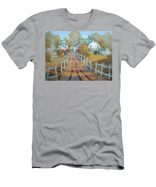 Soaking Up Some Rays Men's T-Shirt (Athletic Fit)