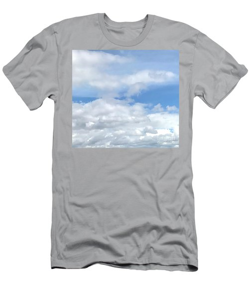 Soft Heavenly Clouds Men's T-Shirt (Athletic Fit)