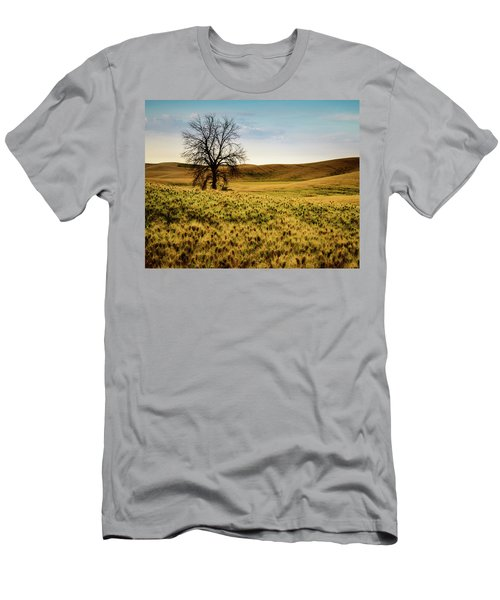 Solitary Tree Men's T-Shirt (Athletic Fit)