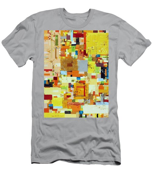 Song Of Solar Fusion Men's T-Shirt (Slim Fit) by Regina Valluzzi