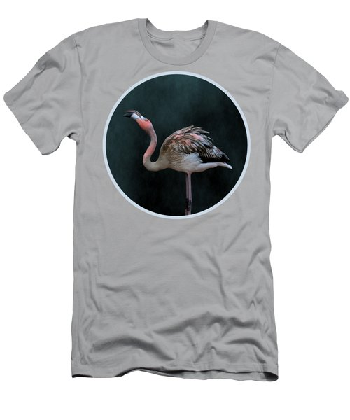 Song Of The Flamingo Men's T-Shirt (Athletic Fit)