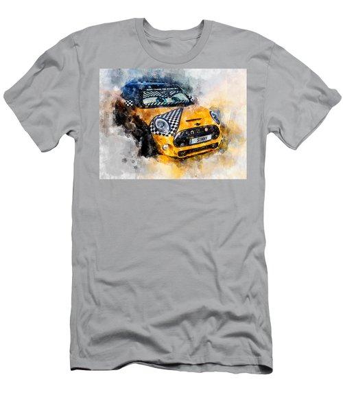 Sonny Watercolor Men's T-Shirt (Athletic Fit)
