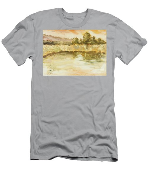 Sonoma Pond Ca Men's T-Shirt (Athletic Fit)