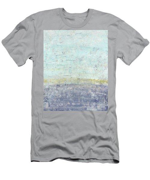 Sonoran Desert #3 Southwest Vertical Landscape Original Fine Art Acrylic On Canvas Men's T-Shirt (Athletic Fit)