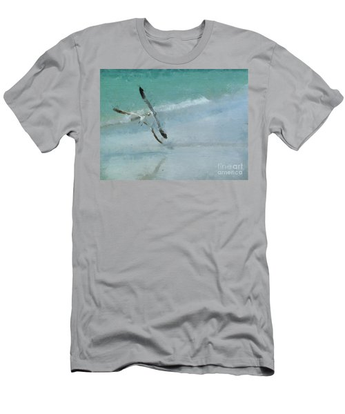 Sound Of Seagulls Men's T-Shirt (Athletic Fit)