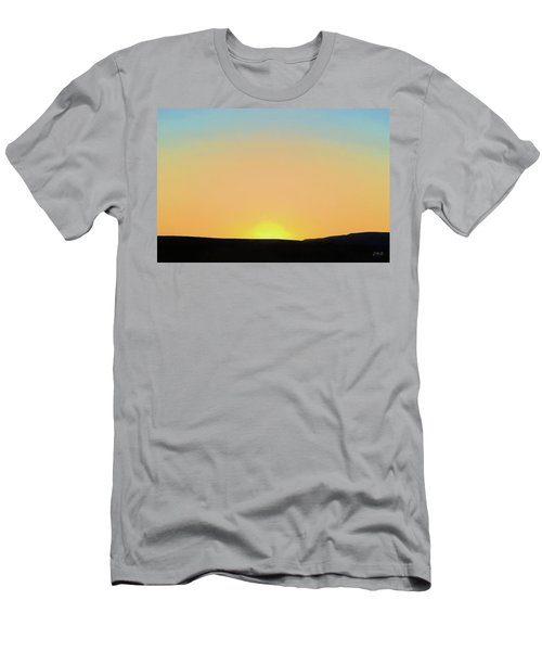 Men's T-Shirt (Athletic Fit) featuring the photograph Southwestern Sunset by David Gordon