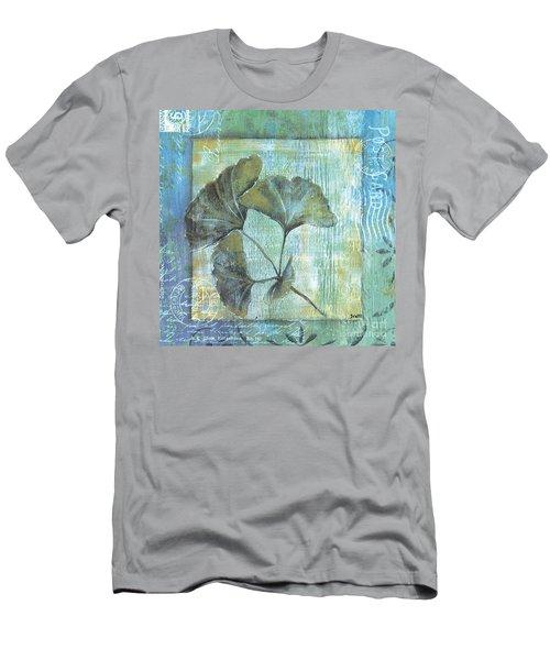 Spa Gingko Postcard 1 Men's T-Shirt (Athletic Fit)