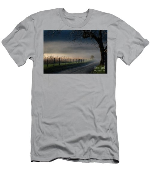 Sparks Lane Sunrise Lr3 Edition Men's T-Shirt (Athletic Fit)