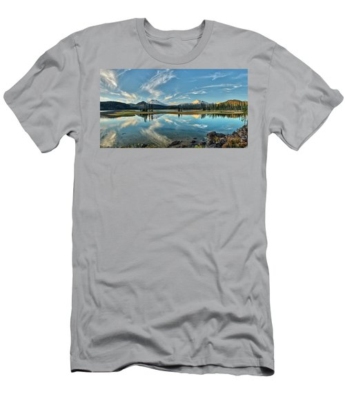 Sparks Sunset Men's T-Shirt (Athletic Fit)