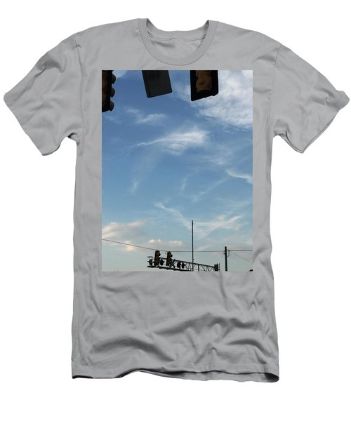 Special Day-hand From Heaven  Men's T-Shirt (Athletic Fit)
