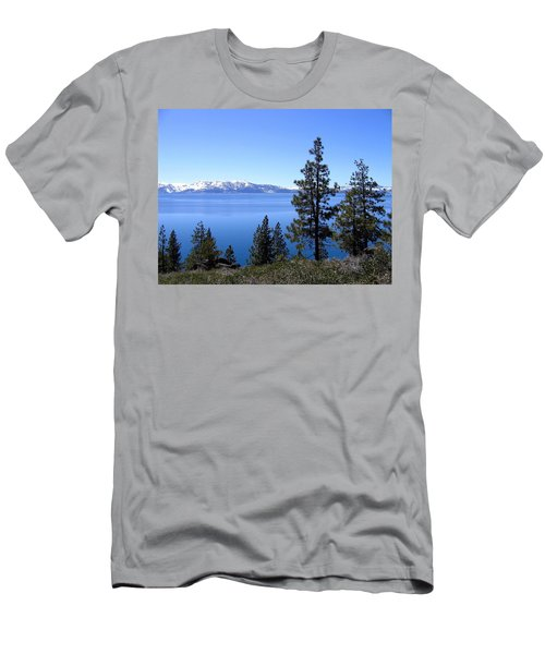Spectacular Lake Tahoe Men's T-Shirt (Athletic Fit)