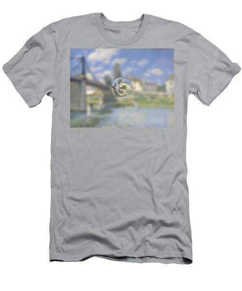 Sphere 18 Sisley Men's T-Shirt (Slim Fit) by David Bridburg
