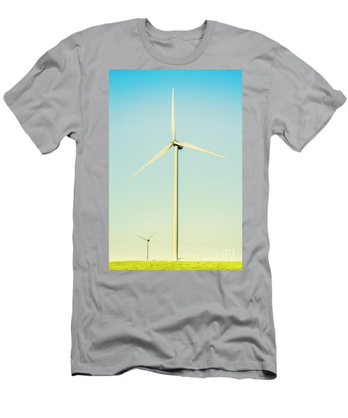 Spinning Sustainability Men's T-Shirt (Athletic Fit)