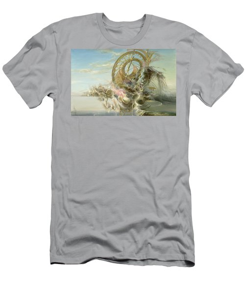 Spiral Of Time Men's T-Shirt (Athletic Fit)