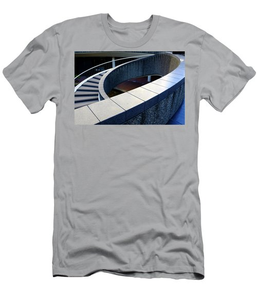 Spiral Stiars In Downtown Tacoma Washington Men's T-Shirt (Athletic Fit)