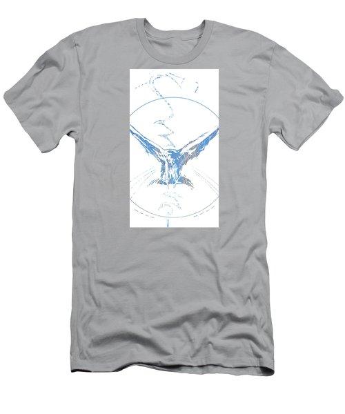 Spirit Animal . Crow Men's T-Shirt (Slim Fit) by John Jr Gholson