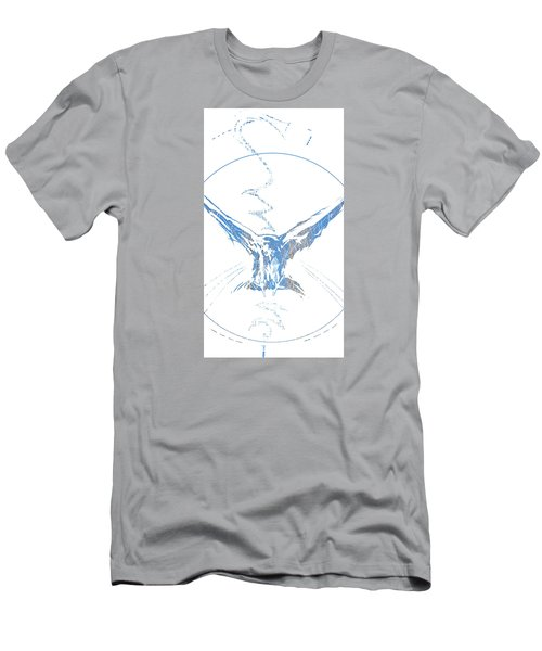 Spirit Animal . Crow Men's T-Shirt (Athletic Fit)