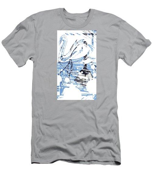 Spirit Animal . Swan Men's T-Shirt (Slim Fit) by John Jr Gholson