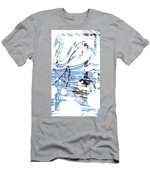 Spirit Animal . Swan Men's T-Shirt (Athletic Fit)