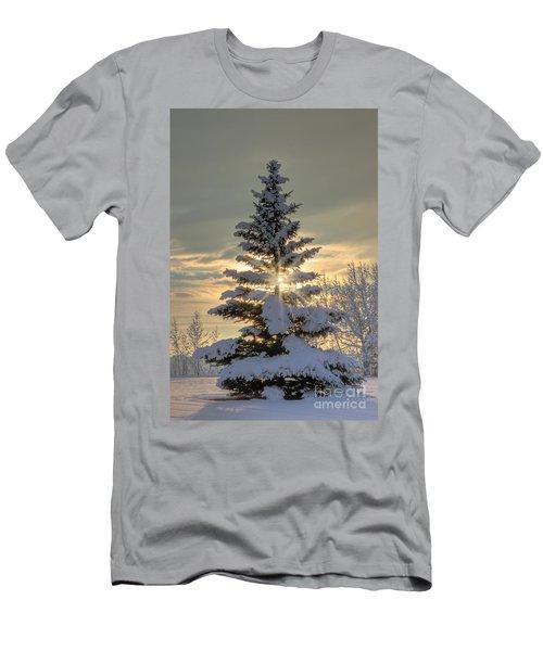 Spirit Tree Men's T-Shirt (Slim Fit) by Brad Allen Fine Art