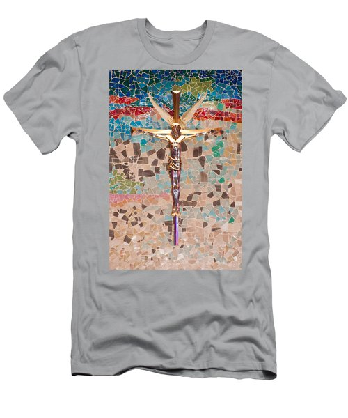 Spiritual Beauty Men's T-Shirt (Slim Fit) by Colleen Coccia