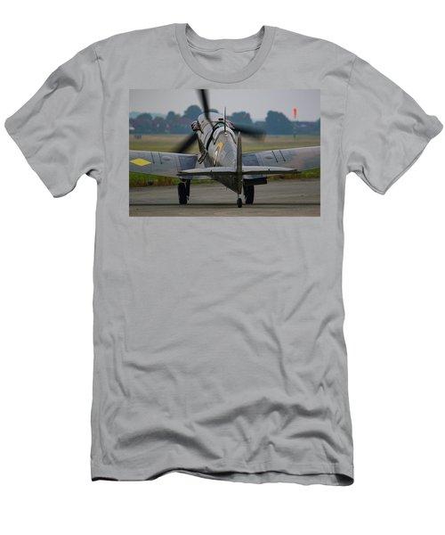 Spitfire Start Up Men's T-Shirt (Slim Fit) by Ken Brannen