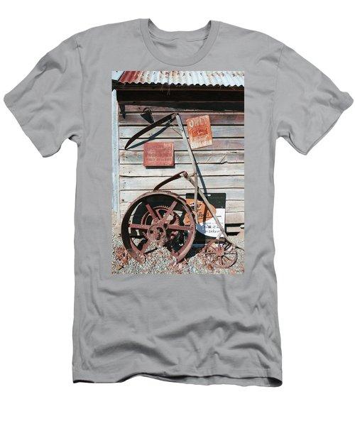 Spitting Prohibited Men's T-Shirt (Slim Fit) by Ivana Westin