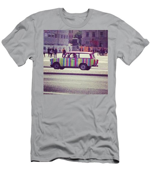 Spotted A Few Of These Doing Tours Men's T-Shirt (Athletic Fit)