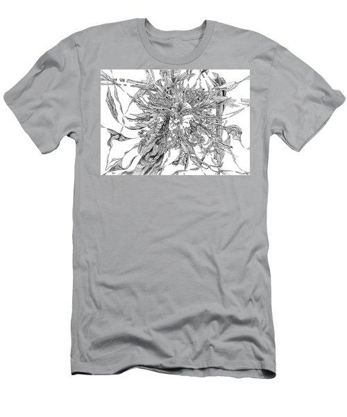 Spring Burst Men's T-Shirt (Athletic Fit)