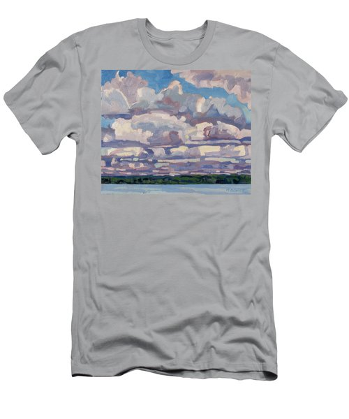 Spring Cumulus Men's T-Shirt (Athletic Fit)