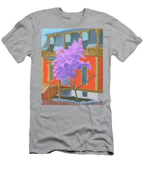 Spring In Pink And Orange Men's T-Shirt (Athletic Fit)