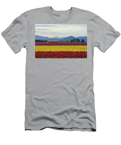 Spring In Skagit Valley Men's T-Shirt (Athletic Fit)