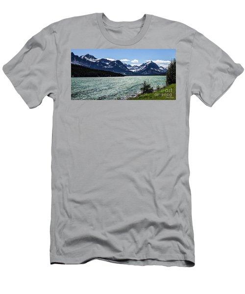 Many Glacier Men's T-Shirt (Athletic Fit)