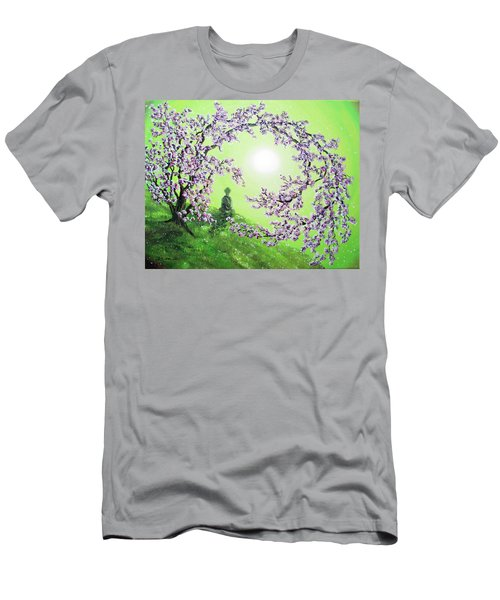 Spring Morning Meditation Men's T-Shirt (Athletic Fit)