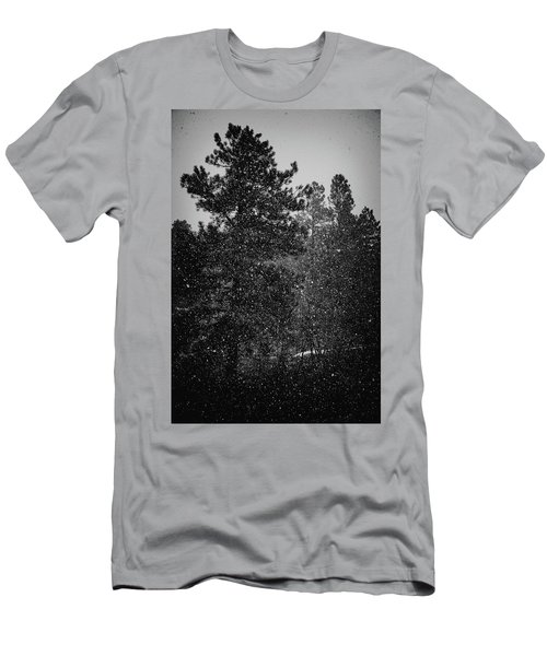 Spring Snowstorm Men's T-Shirt (Slim Fit) by Jason Coward