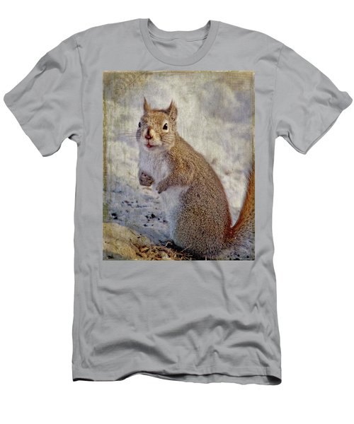 Spring Squirrel Men's T-Shirt (Athletic Fit)