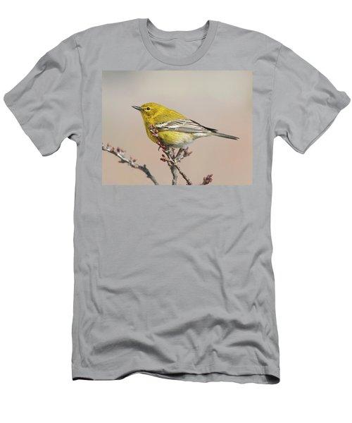 Spring Warbler 1 2017 Men's T-Shirt (Slim Fit) by Lara Ellis
